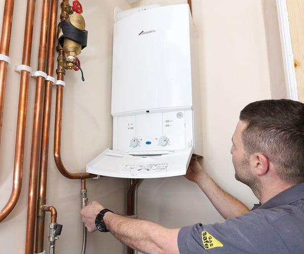 gas boiler fitting