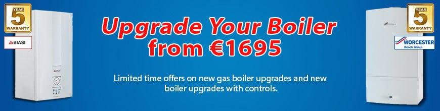 Gas boiler upgrade